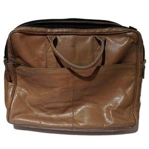 Fyre Leather Laptop Bag